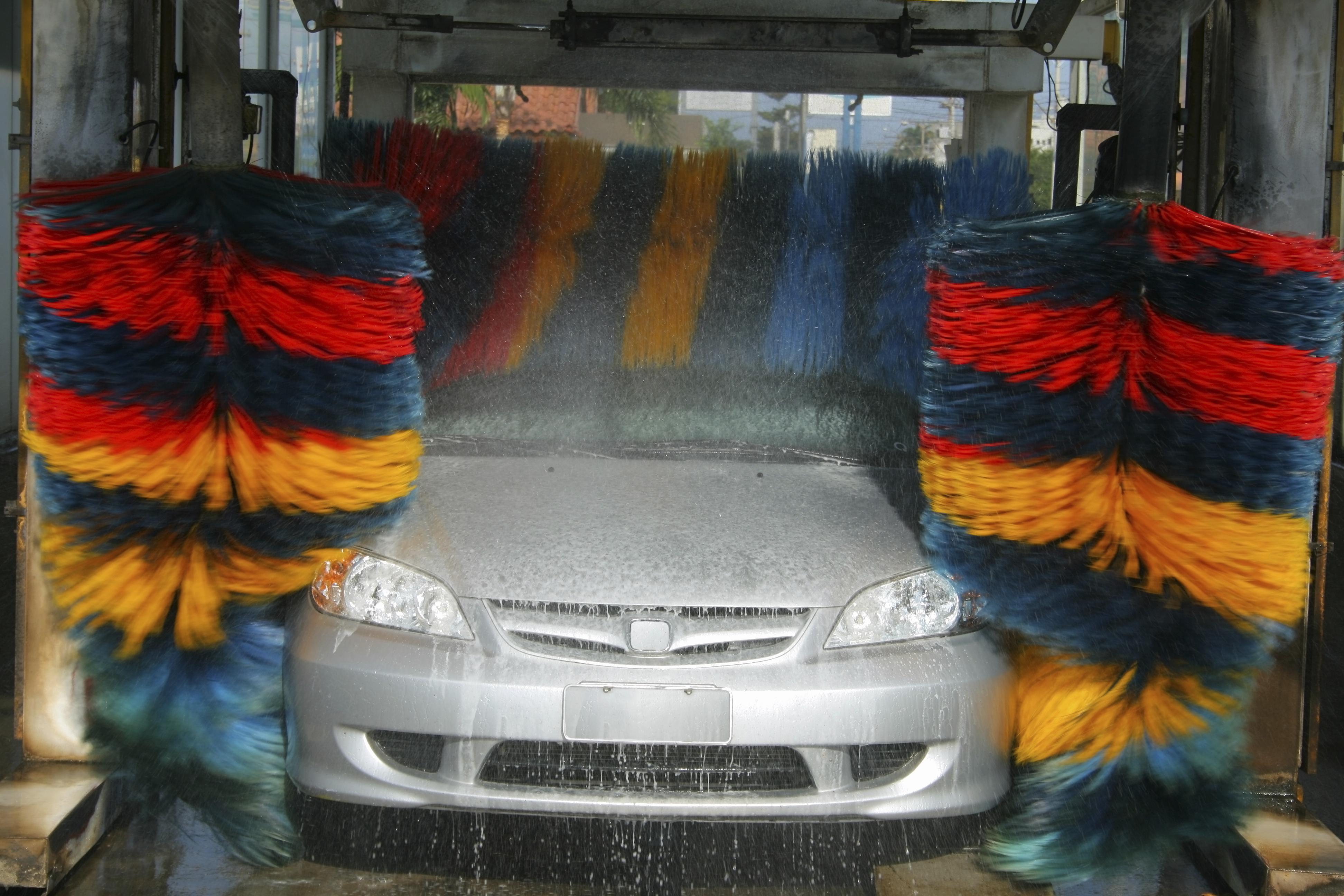 Magnetbremse für Waschanlagen